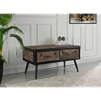Entryway Traditional Wooden Chest with Drawers (Brown)