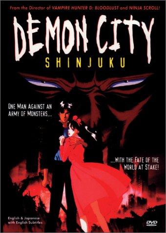 Demon City Shinjuku (Top Anime For Adults)