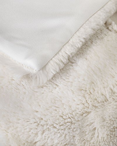 Balsam Hill Berkshire Channel Stitch Tree Skirt, 84 inches, Ivory White by Balsam Hill (Image #2)