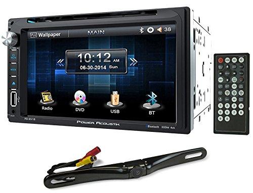 "Power Acoustik PD-651B 6.5"" DVD/CD In Dash Car Monitor+Bluet"