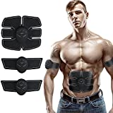 ABS Trainer Ab Belt ,Abdominal Muscles Toner,Body Fit Toning Belt,Fitness Training Gear Home/Office Ab Workout Equipment Machine for Men&Women