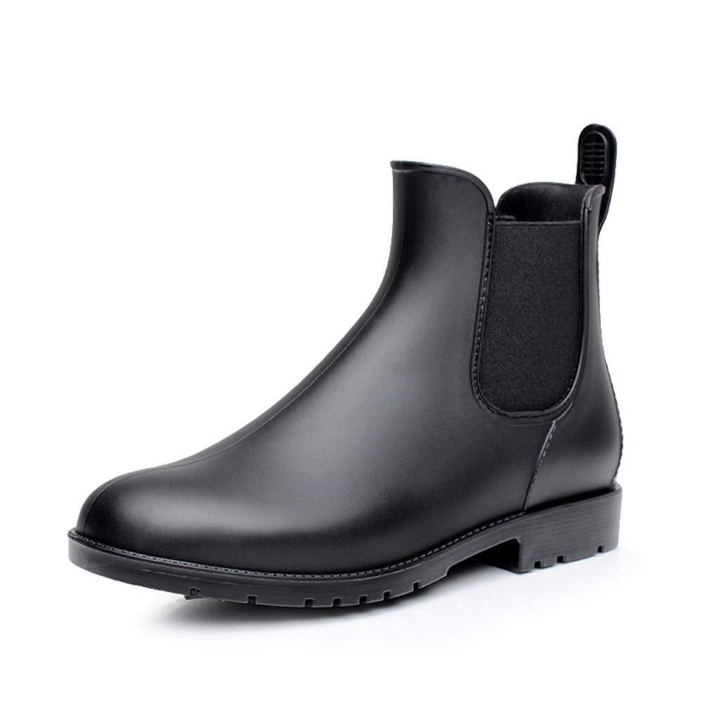 Belingeya Regenschuhe für Herren Low Tube Herren Regen Schuhe Wasserdichte Low Stiefel Chelsea Schuhe Herren Freizeitschuhe Schneestiefel für Männer (Größe   38 2 3 EU)
