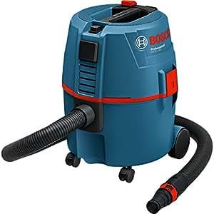 Bosch Professional GAS 20L - Aspirador para seco/húmedo (1200 W, 215 mbar, 62l/s)