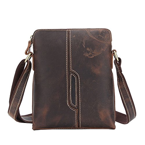 Casual Bag Othilar Body Shoulder Cowhide Men's Satchel Leather Small Cross 4nnwqSx5pH