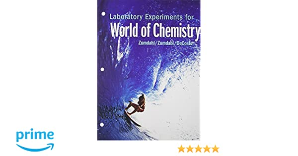 Amazon.com: Laboratory Experiments World of Chemistry ...