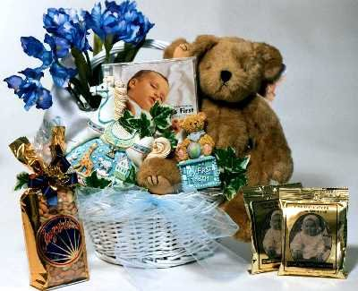 New Arrival Baby Gift Baskets (Medium)