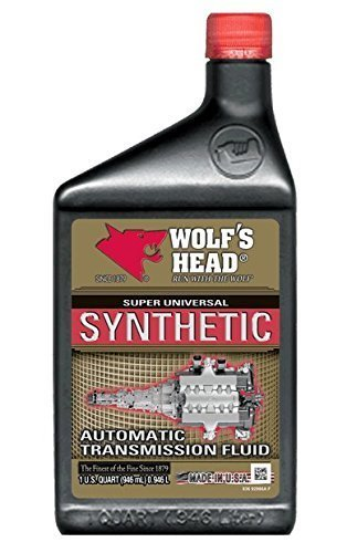 Fluid Optimizer - Wolf's Head 836-92866-56-Case Motor Oil (SYN ATF), 12 quart, 12 Pack
