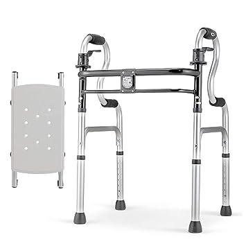BZEI-WALKERS Andador Compacto Plegable con Asiento, andadores ...