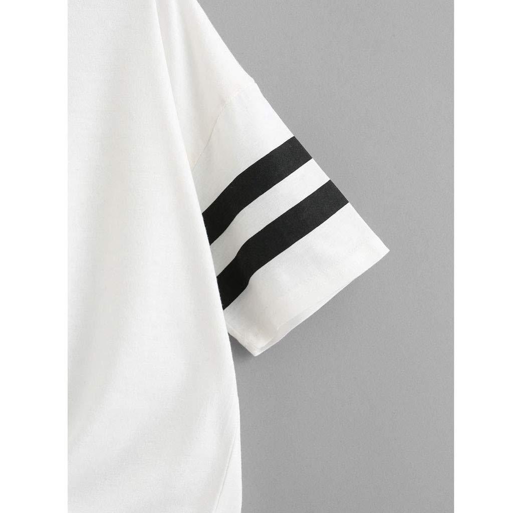 Xmiral Donna T-Shirt Camicetta Tops Tank Top 195920
