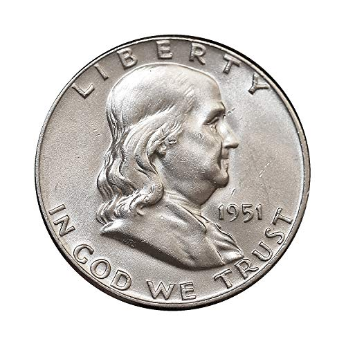 1951 P Franklin Half Dollar - Gem BU/MS/UNC ()