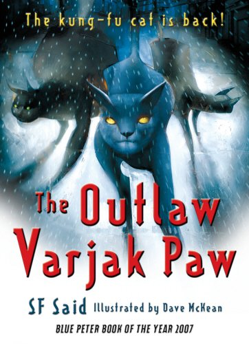 Book cover for The Outlaw Varjak Paw