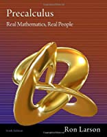 Precalculus: Real Mathematics, Real People, 6th Edition Front Cover