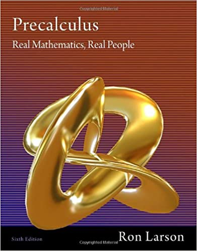 Precalculus real mathematics real people ron larson precalculus real mathematics real people 6th edition fandeluxe Images
