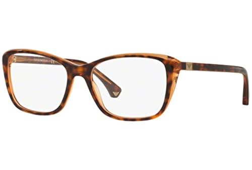 Emporio Armani – EA 3083, Schmetterling, Acetat, Damenbrillen, HAVANA HONEY(5515), 54/17/140