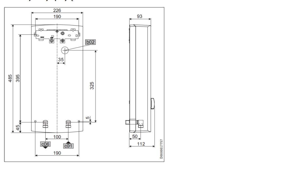 PHB 21 kW 18//21//24 kW Stiebel Eltron PHB Hydraulisch Durchlauferhitzer verschiedene Leistung