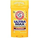 ARM & HAMMER ULTRAMAX Anti-Perspirant Deodorant Active Sport 2.60 oz ( Pack of 6)