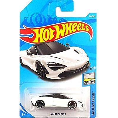 Hot Wheels 2020 Factory Fresh McLaren 720S 318/365 White: Toys & Games