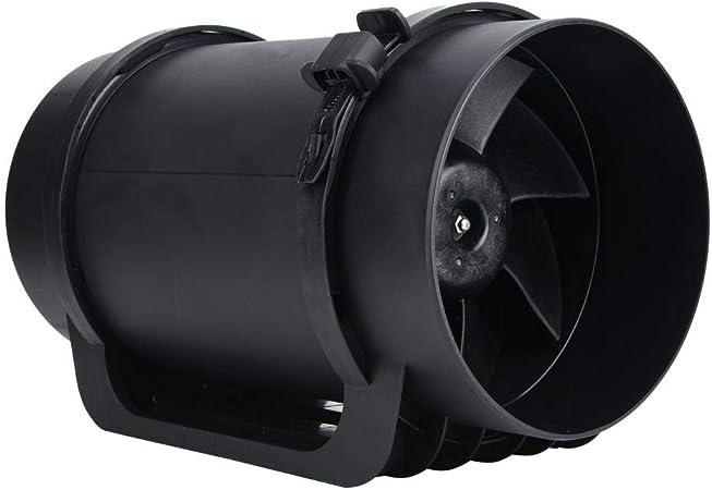 Ventilador de extracción de ventilación, motor EC de 6.3 pulgadas ...