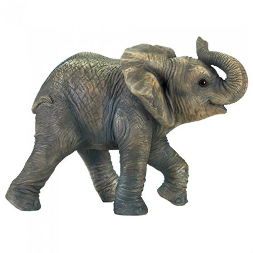 - Zings & Thingz 57074089 Elephant Garden Statue Gray