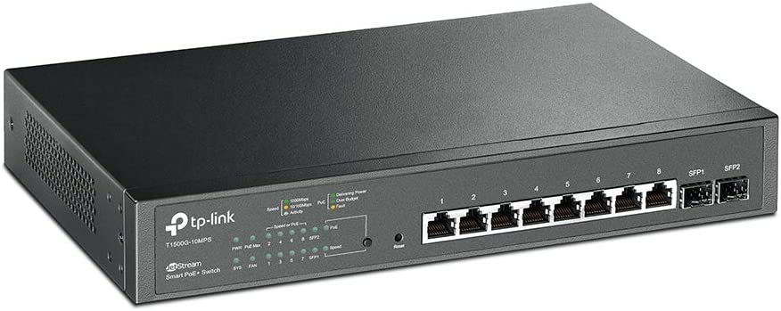 TP-Link 8 Port Gigabit PoE Switch