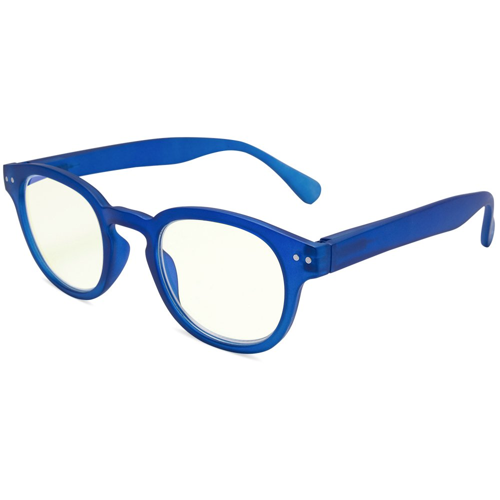 EYEGUARD Anti Blue Light Glasses For Kids Spring Hinges Computer Glasses,UV Protection Anti Glare Eyeglasses