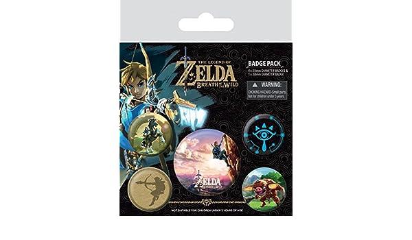 Amazon The Legend Of Zelda Badge Pack