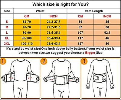 VENUZOR Waist Trainer Belt for Women - Waist Cincher Trimmer - Slimming Body Shaper Belt - Sport Girdle Belt (UP GRADED) by VENUZOR