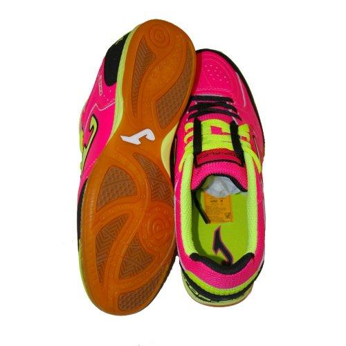 Zapatillas de fútbol sala Joma Top Flex 410fucsia-nero Indoor