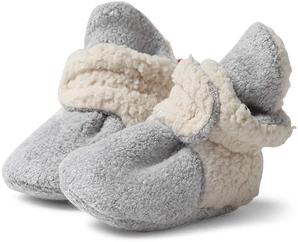 Zutano Cozie Fleece Baby Booties, Unisex, For Newborns and Infants