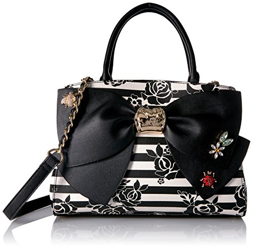 Betsey Johnson Glam Garden Bow Satchel, Multi by Betsey Johnson