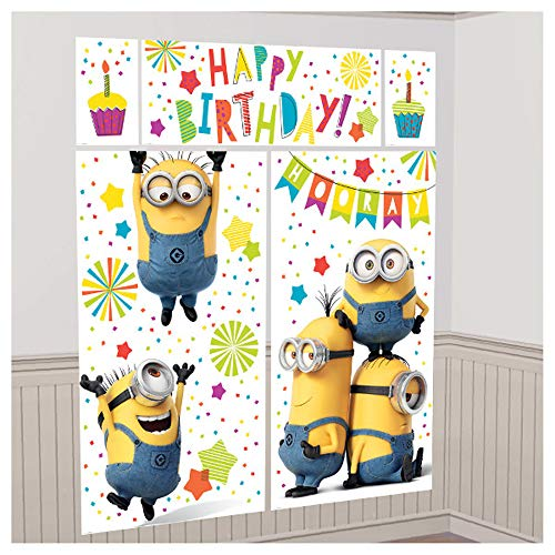 Despicable Me 'Minion Fun' Wall Poster Decorating Kit (5pc) -
