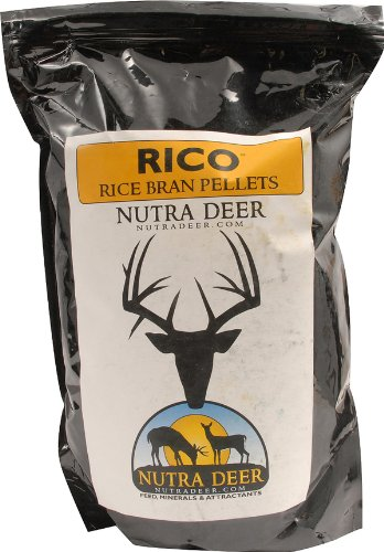 Outdoor Brandz Nutra Deer Rico Rice Bran Pellets Attractant, 5-Pound