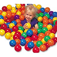 ATNINE Soft Fun Plastic Tent Toy Swim Pool Pit Balls for Babies-50 Pieces | Multicolour