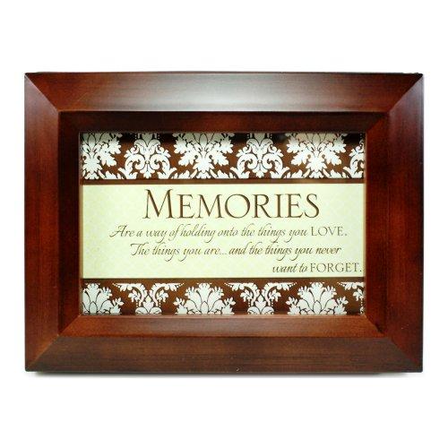 Memories Wooden Flip Photo Frame Album - Holds 50 Standard-Sized 4