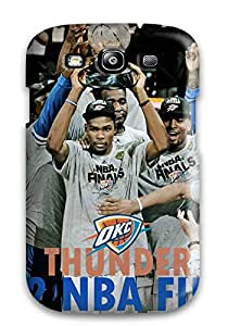 HrIpeJn496NqHKI Tpu Phone Case With Fashionable Look For Galaxy S3 - Oklahoma City Thunder Basketball Nba