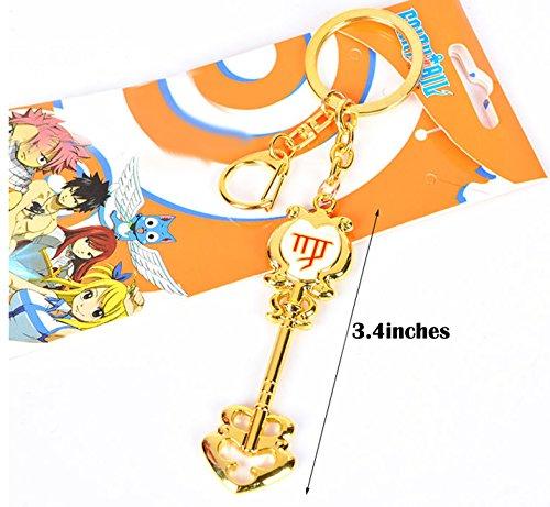 Dreamcosplay Fairy Tail Virgo Logo Pendant KeyChain Key Chain Cosplay ()