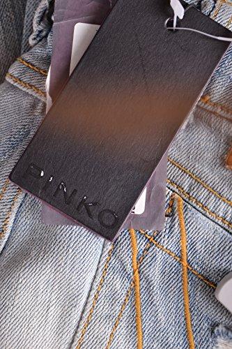 Bleu MCBI242049O Pinko Jeans Claire Femme Coton wYfnqB4x