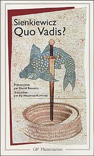 Quo Vadis?, Sienkiewicz, Henryk