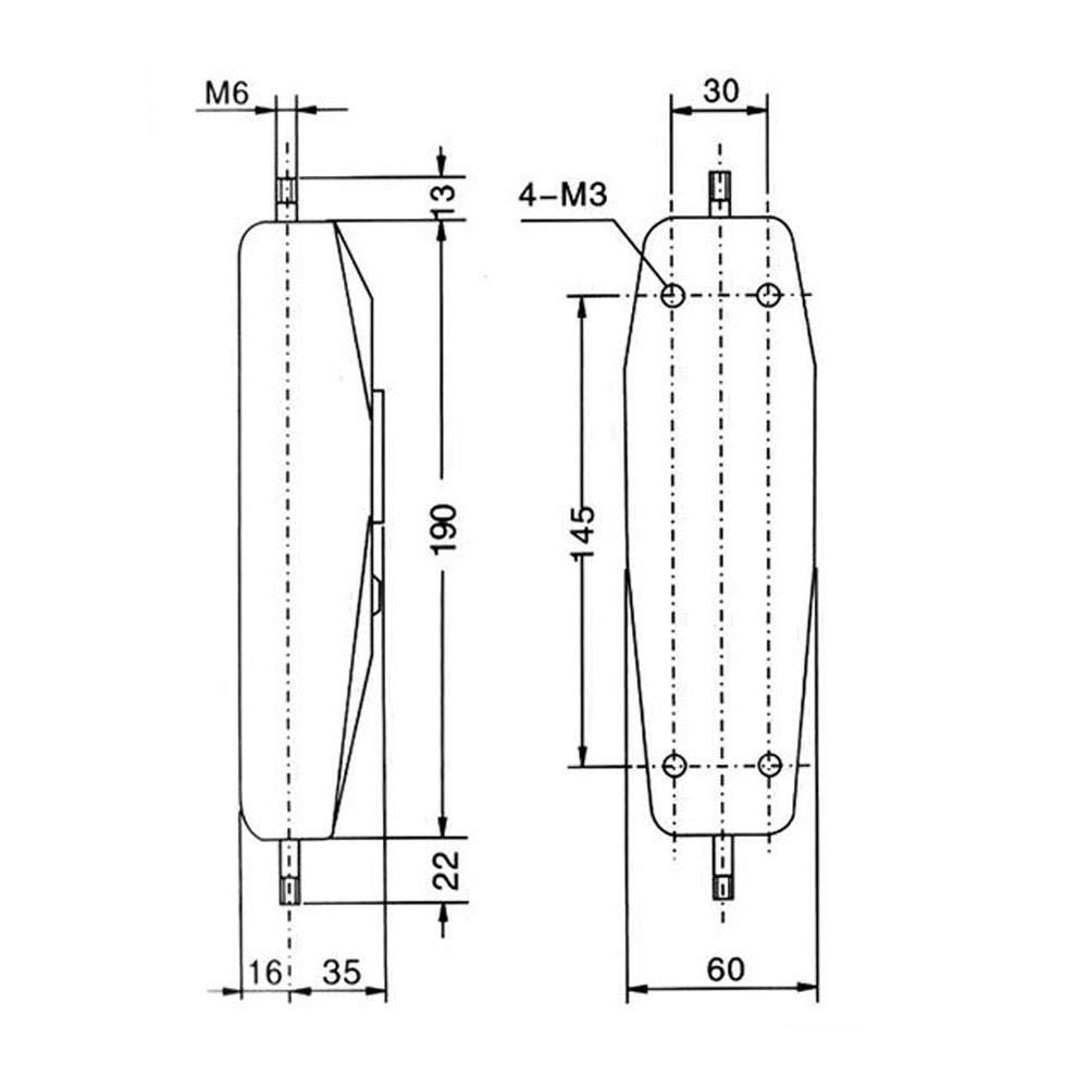 Hardware Piezas de autom/óvil Dinam/ómetro anal/ógico 500N Medidor de fuerza Medidor de fuerza de empuje Medidor de fuerza de fuerza para medici/ón de fuerza en electr/ónica Aparatos el/éctricos
