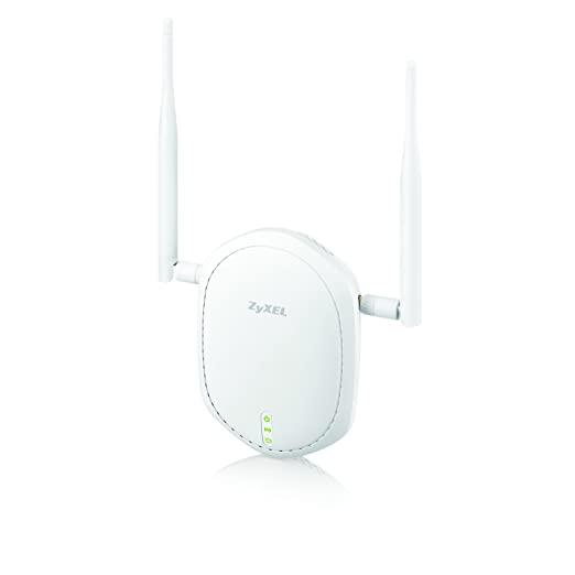 Zyxel WiFi Access Point Single Band 802 11n PoE with 2 External Antennas  for Long Range [NWA1100-NH]