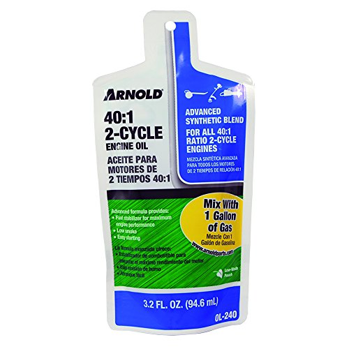 (Arnold 2-Cycle 40:1 3.2 oz. Engine Oil)
