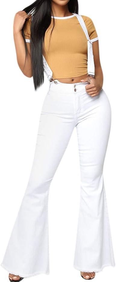 Mujer Vaqueros Skinny de Tiro Alto, Pantalones Vaqueros con ...