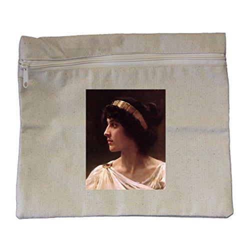 Irene (Bouguereau) Canvas Zippered Pouch Makeup (Irene Bag)