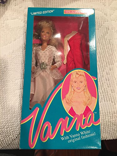 (Vanna White Limited Edition Barbie Doll with Original Fashion)