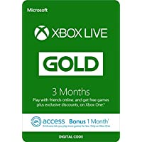 Xbox LIVE 3 Month Gold Membership + 1 Month EA Access (XB1/360) [Xbox Live Online Code]