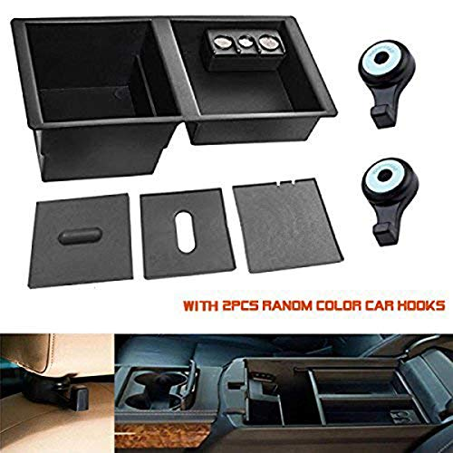 Center Console Insert Organizer Tray for 2014-2018 Chevy Silverado GMC Sierra Yukon/XL Tahoe Suburban,GM Vehicles Replaces 22817343 ()