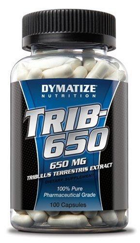 Dymatize Nutrition TRIB-650 Extrait de Tribulus Terrestris, 100 Capsules