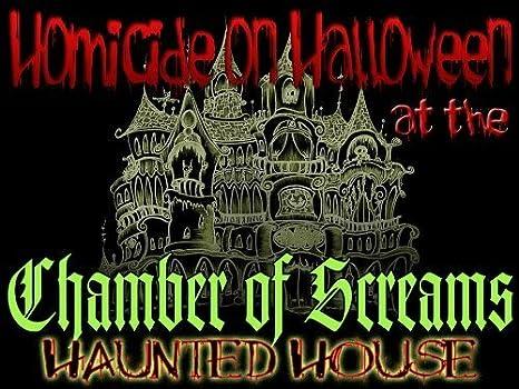 Amazon.com: Halloween Murder Mystery Party -Homicide on Halloween ...