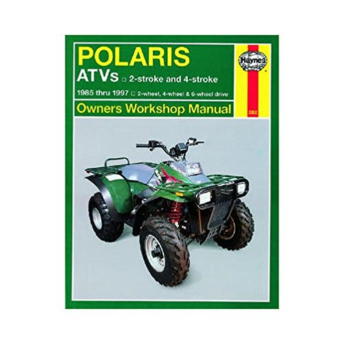 (HAYNES 2302 REPAIR SERVICE MANUAL POLARIS ATVS (ALL) 1985-1997)