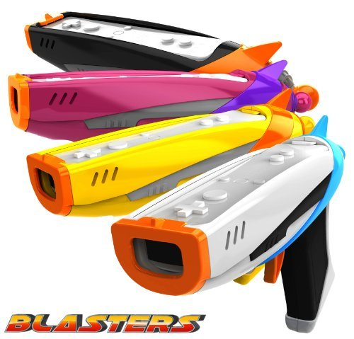 Toy Space Toy Blasters for Wii/Wii U Game Controller. 4 Blasters!